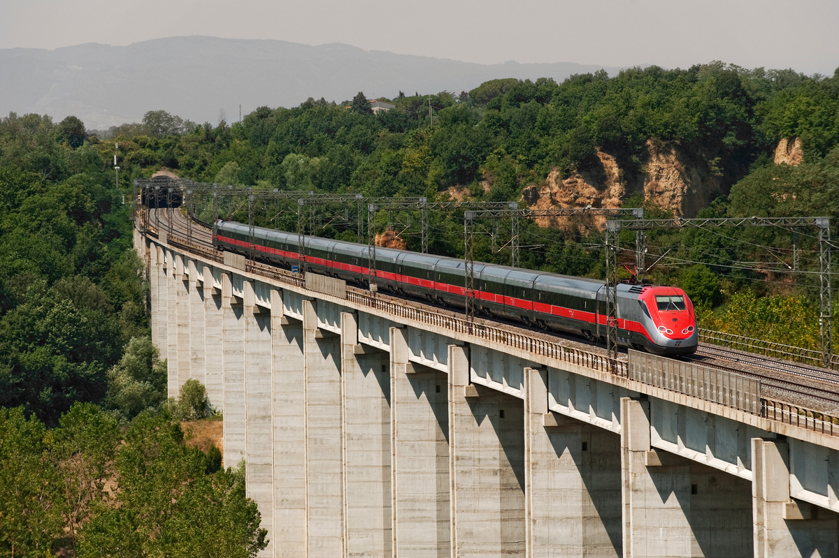 قطار ایتالیا