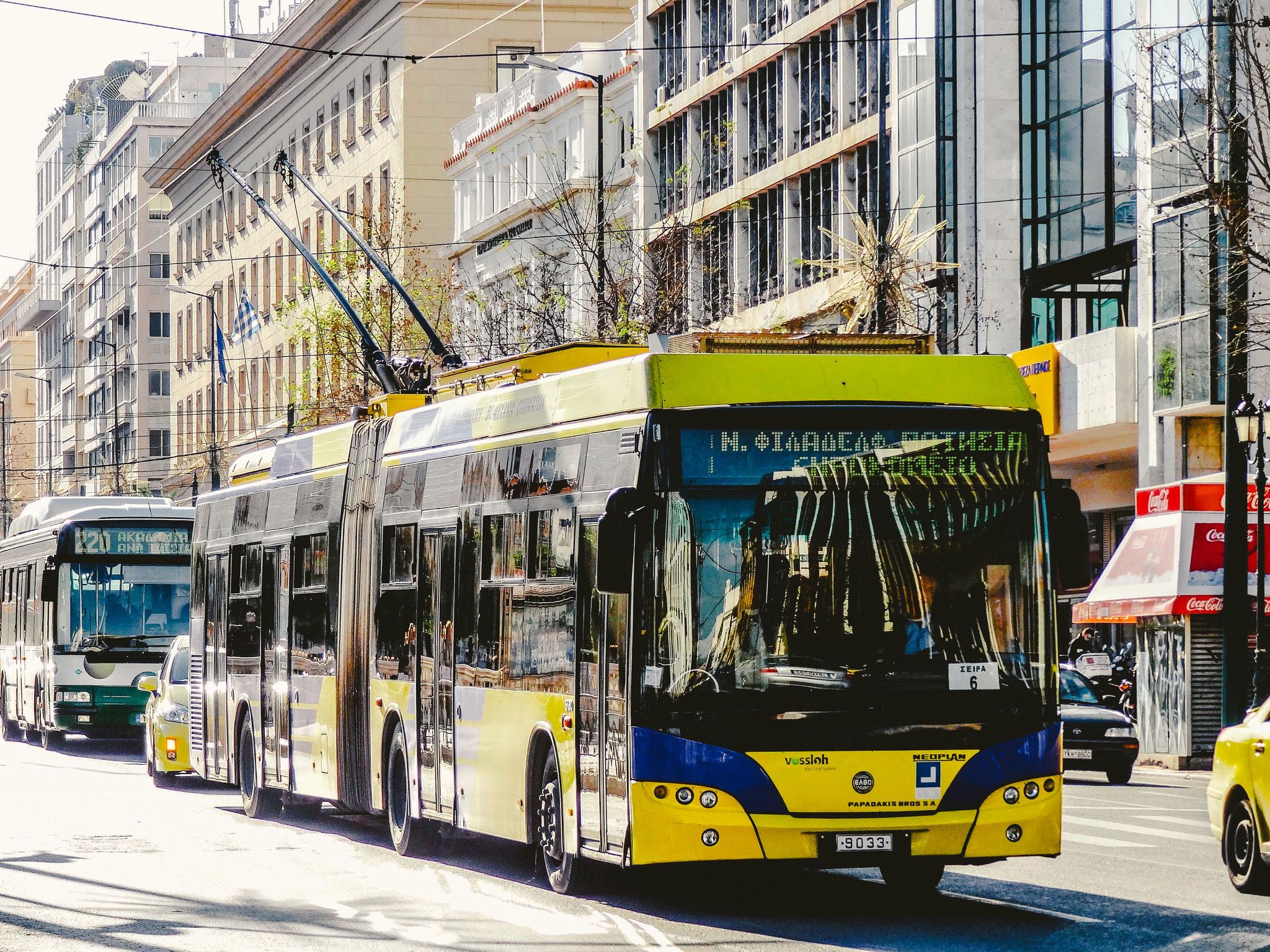 اتوبوس شهری آتن