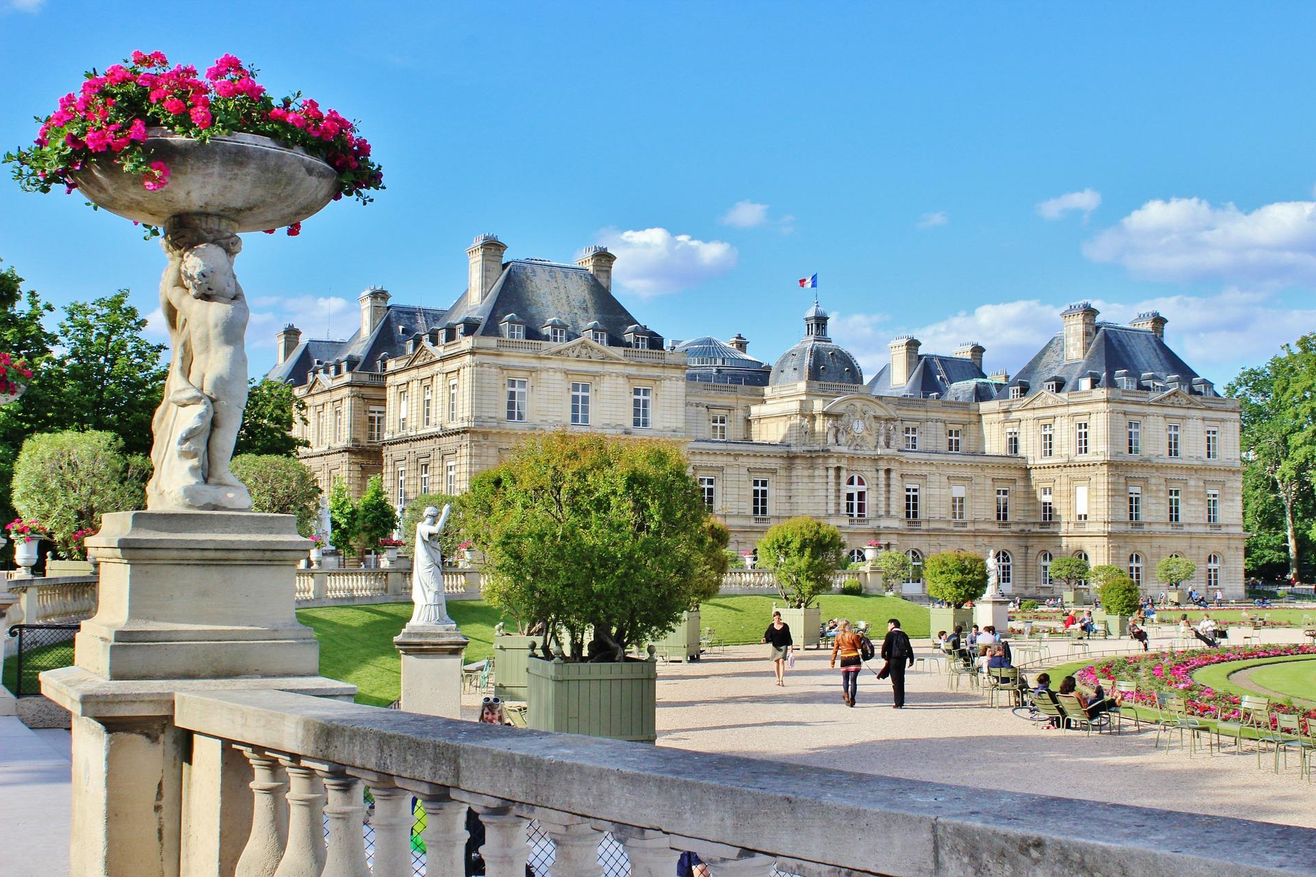 باغ لوکزامبورگ پاریس
