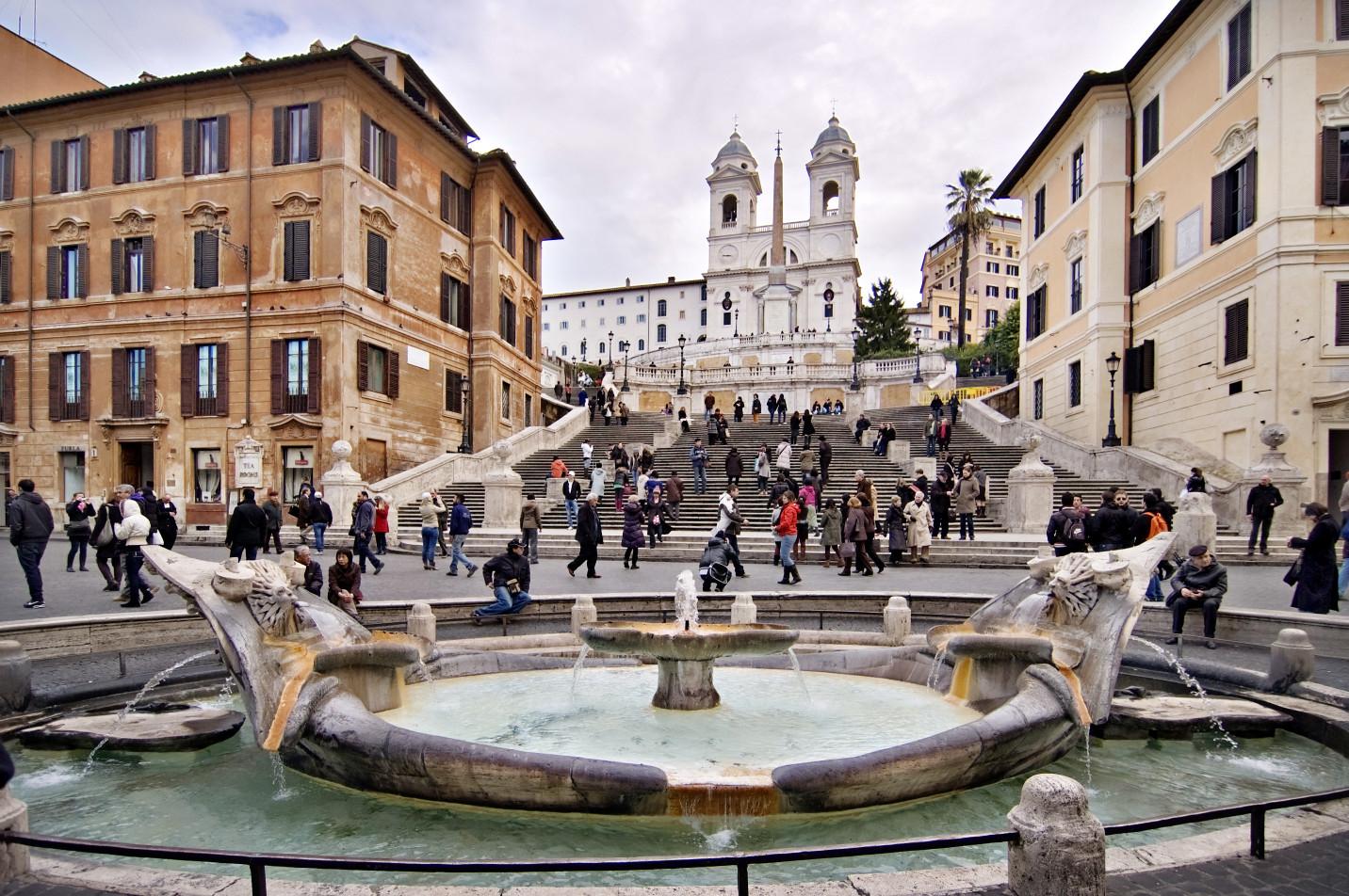 پل های اسپانیایی رم