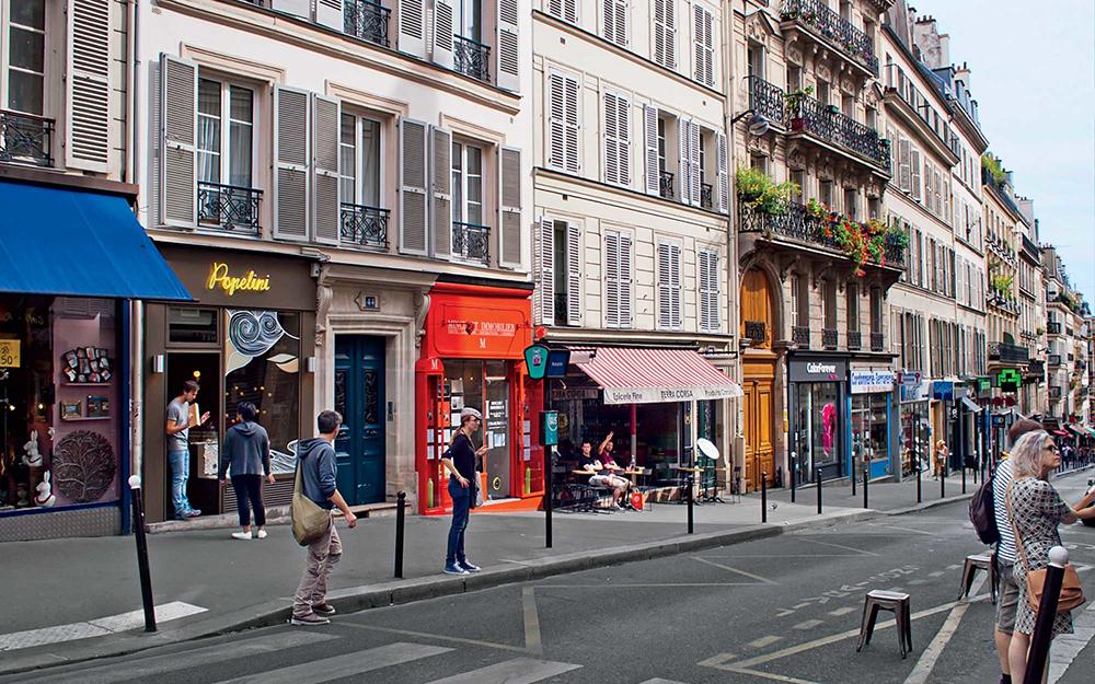 خیابان مارتیرز پاریس