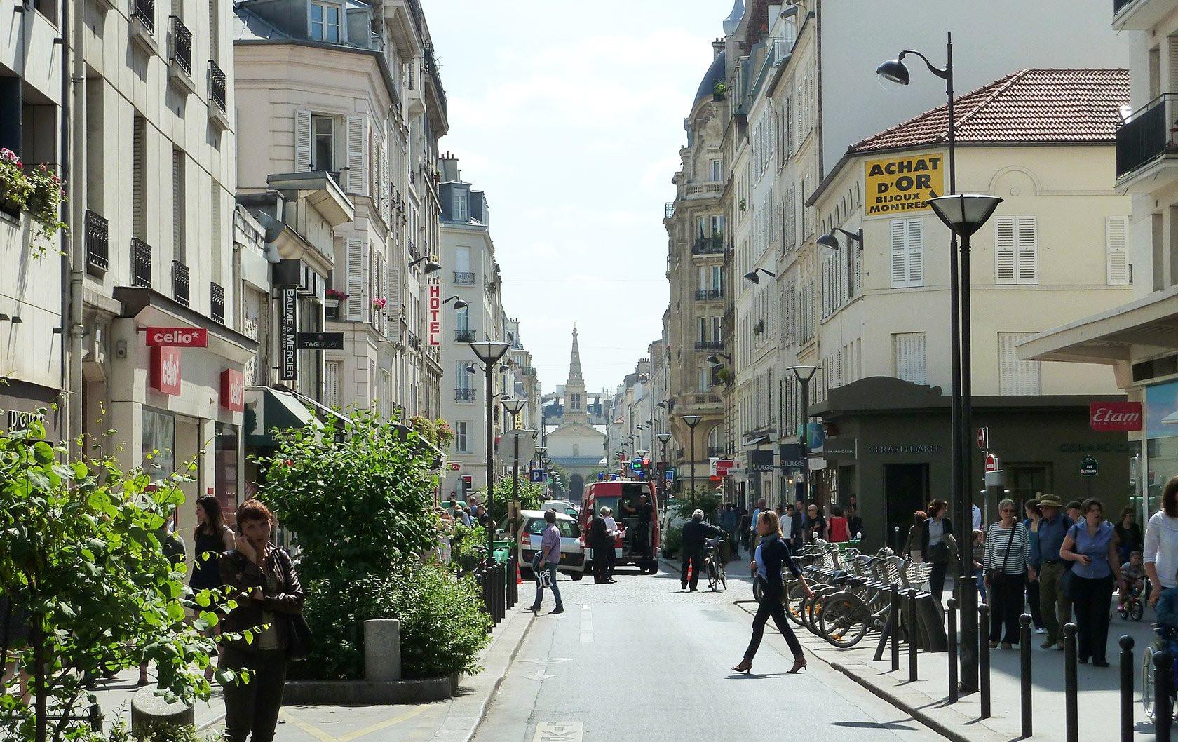 خیابان کومرس پاریس