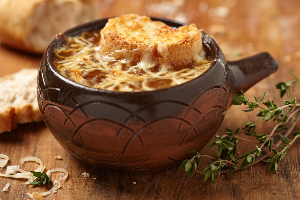 سوپ پیاز فرانسه