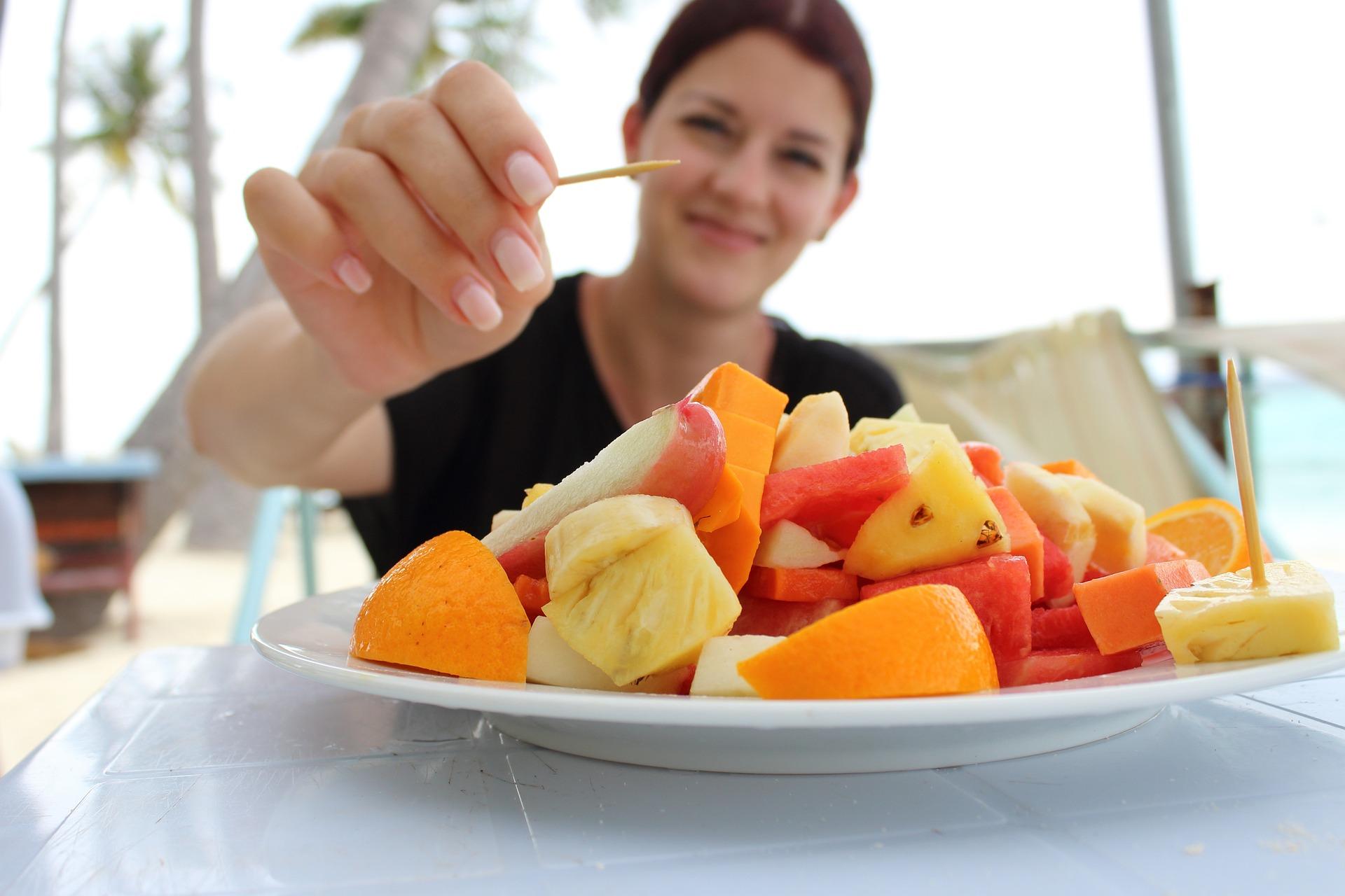 میوه خوردن در فرانسه
