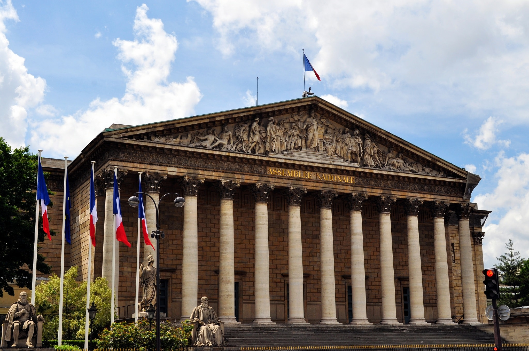 عمارت مجلس ملی پاریس