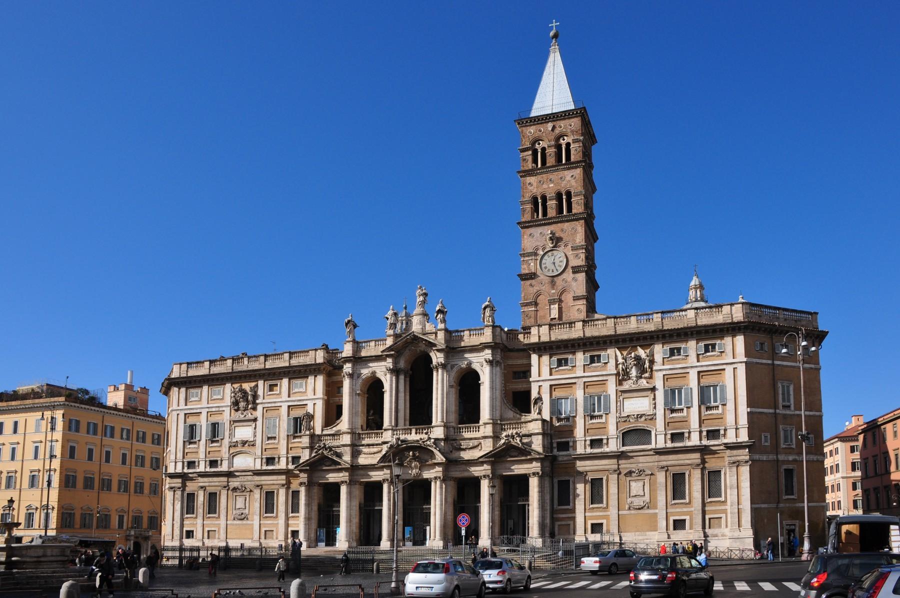 کلیسای سانتا ماریا مجیوره رم