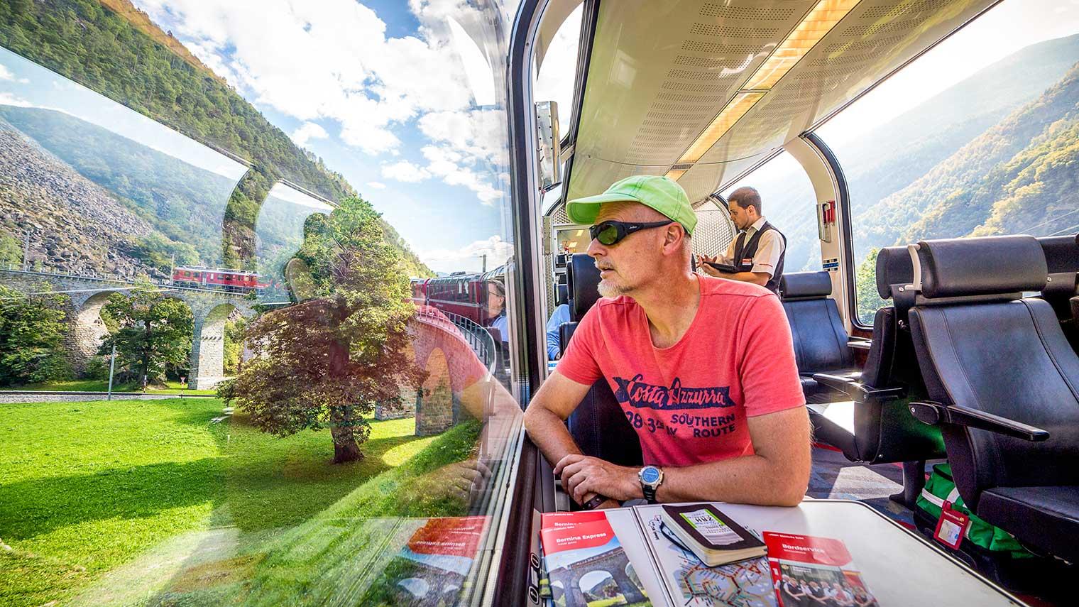 قطار در سوئیس