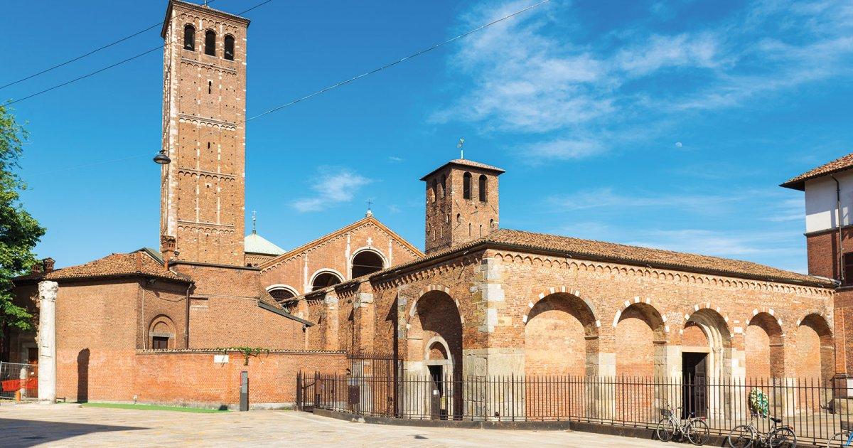 کلیسای سنت آمبروجو میلان