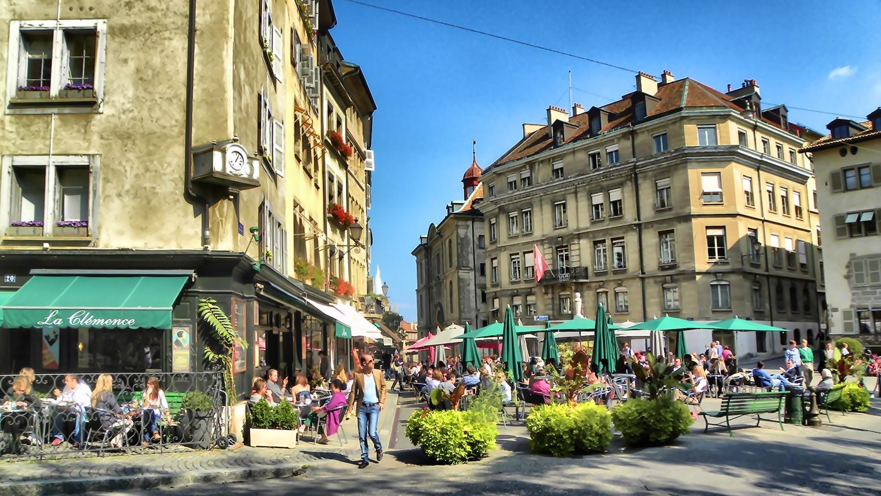 شهر قدیم ژنو