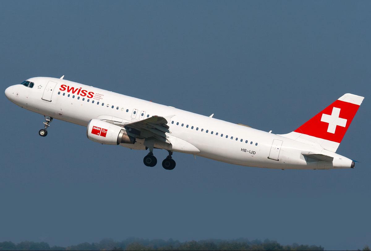 هواپیمایی سوئیس