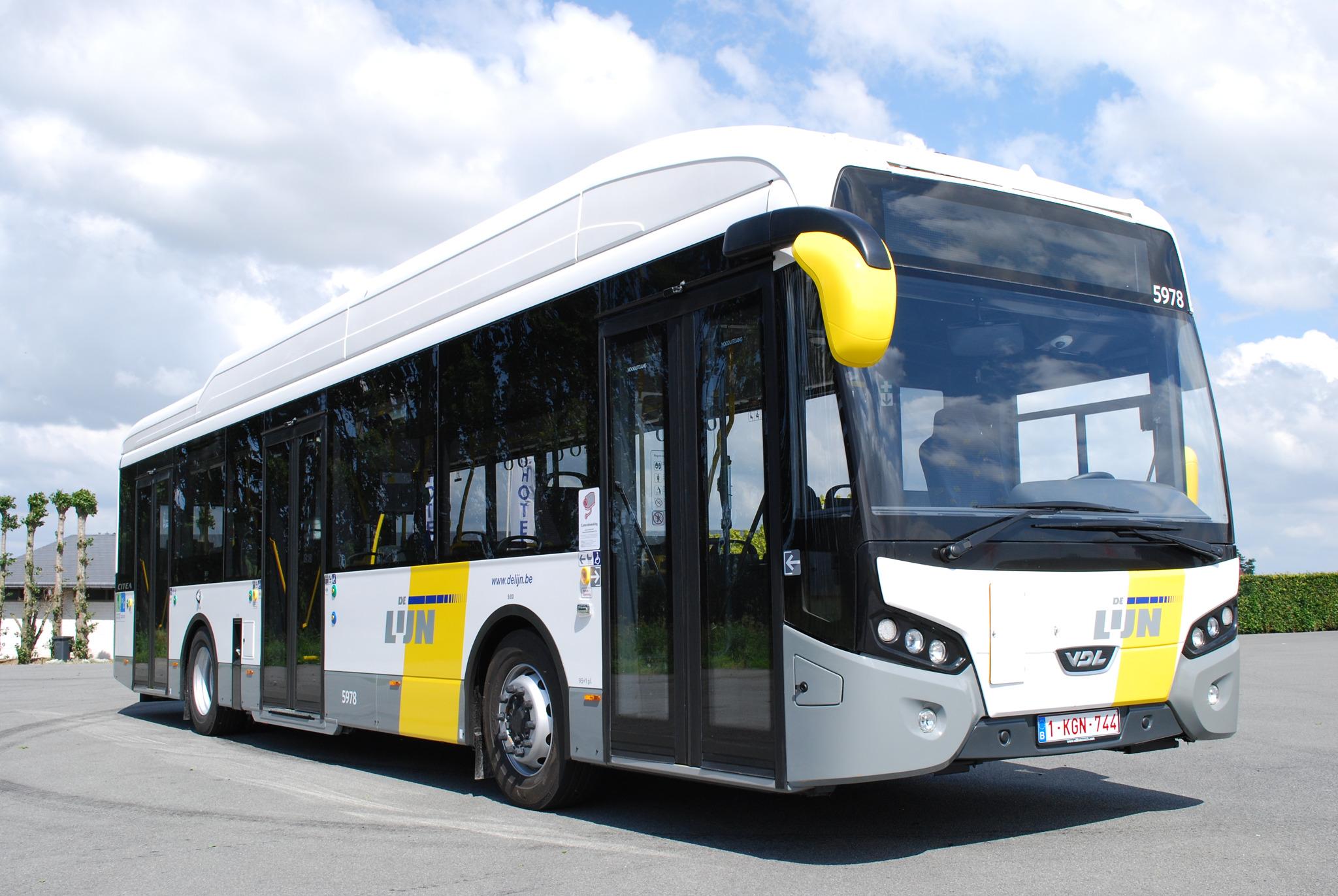 اتوبوس برقی در سوئیس