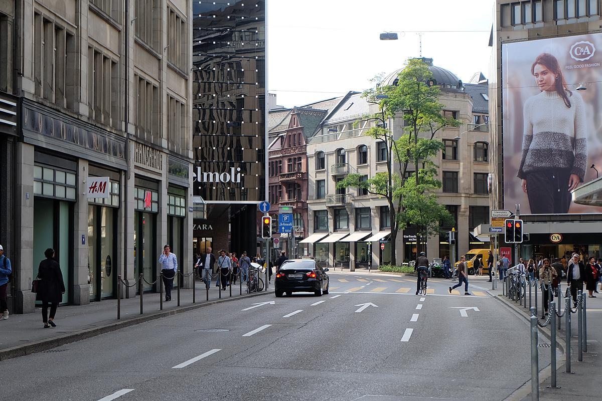 خیابان بانهوف زوریخ