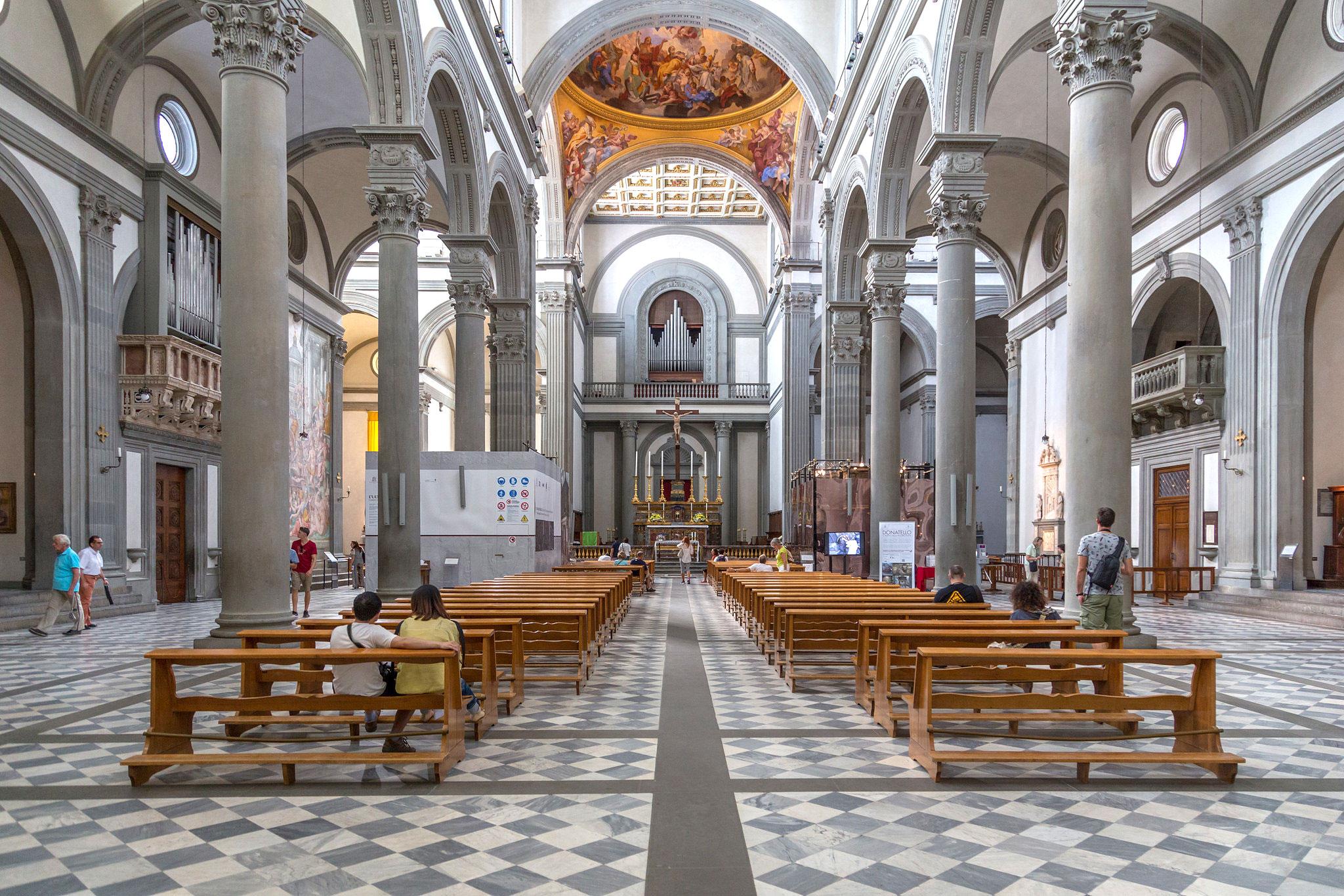 کلیسای سنلورنزوفلورانس