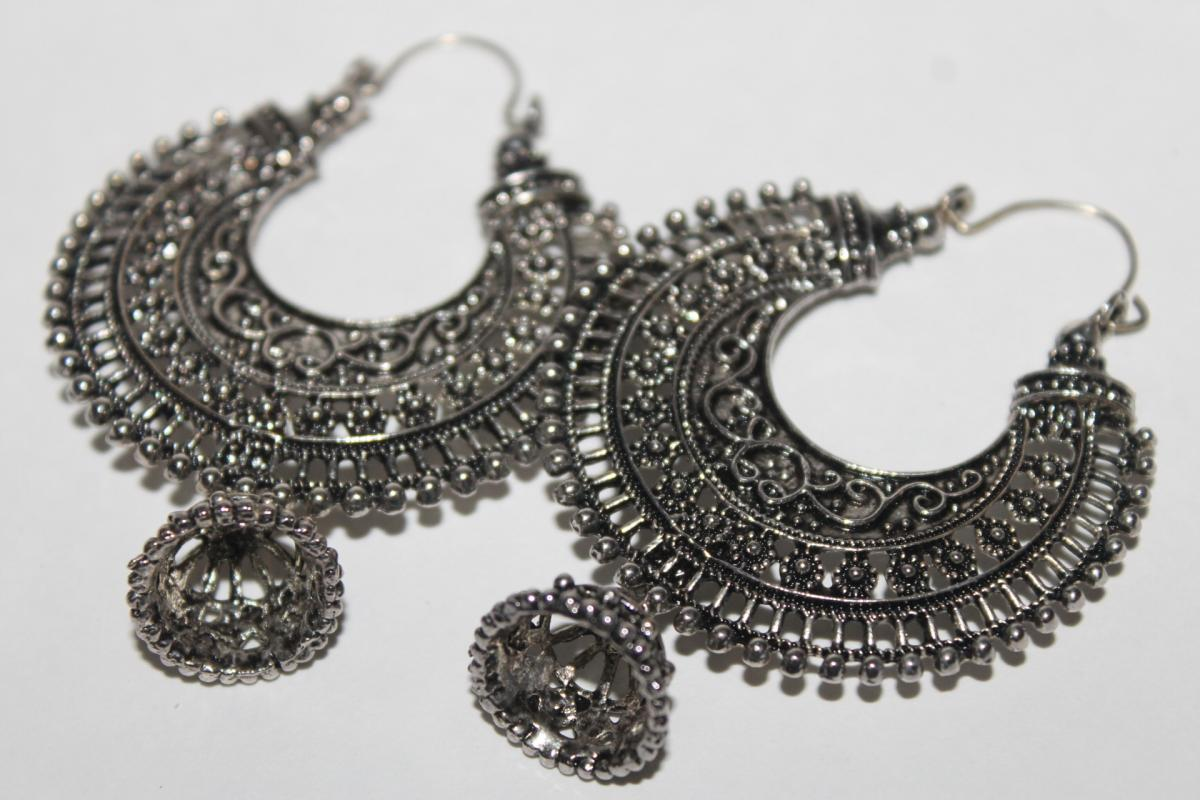 Traditional silver jewelry