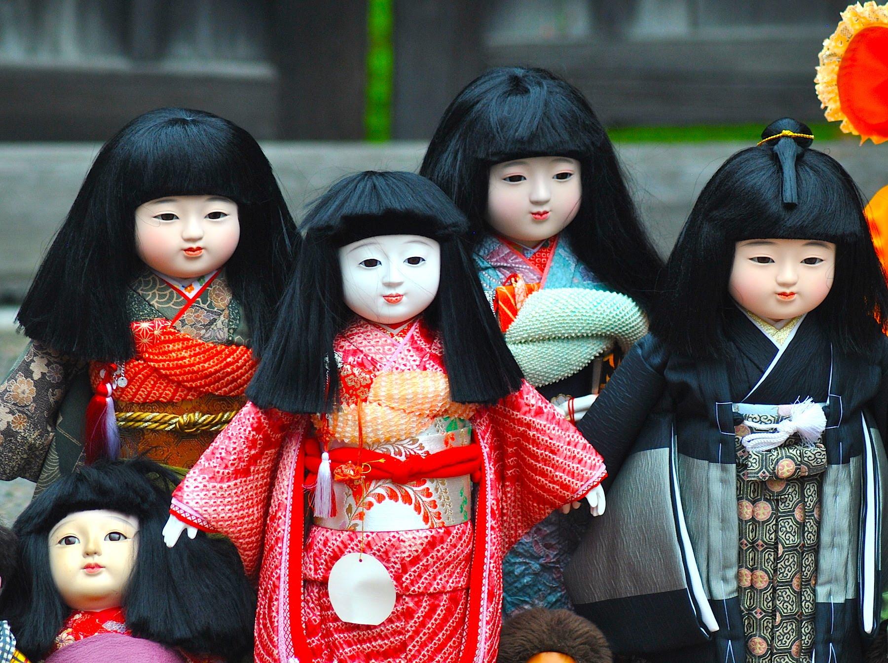 عروسکهای سنتی ژاپنی