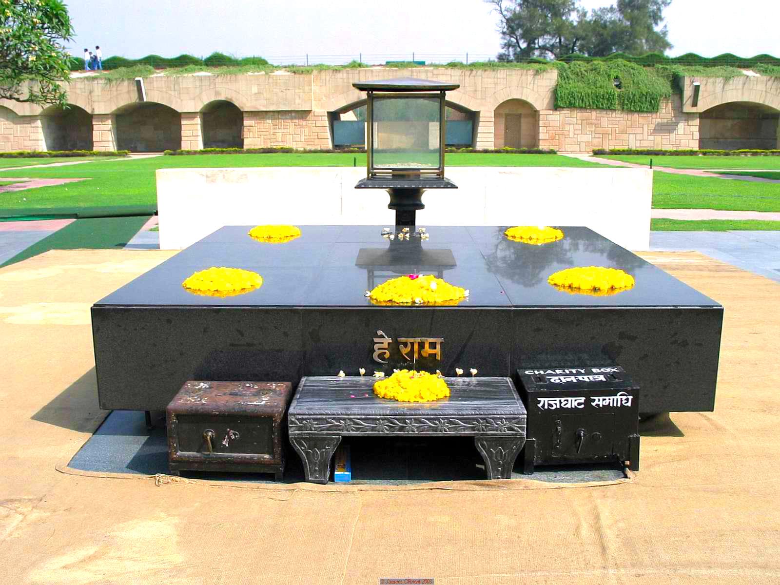 مقبره ی گاندی