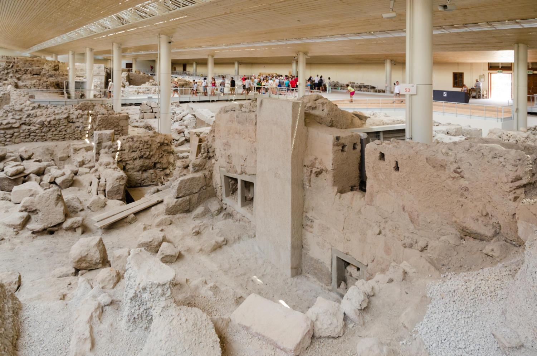 سایت باستانشناسی آکروتیری