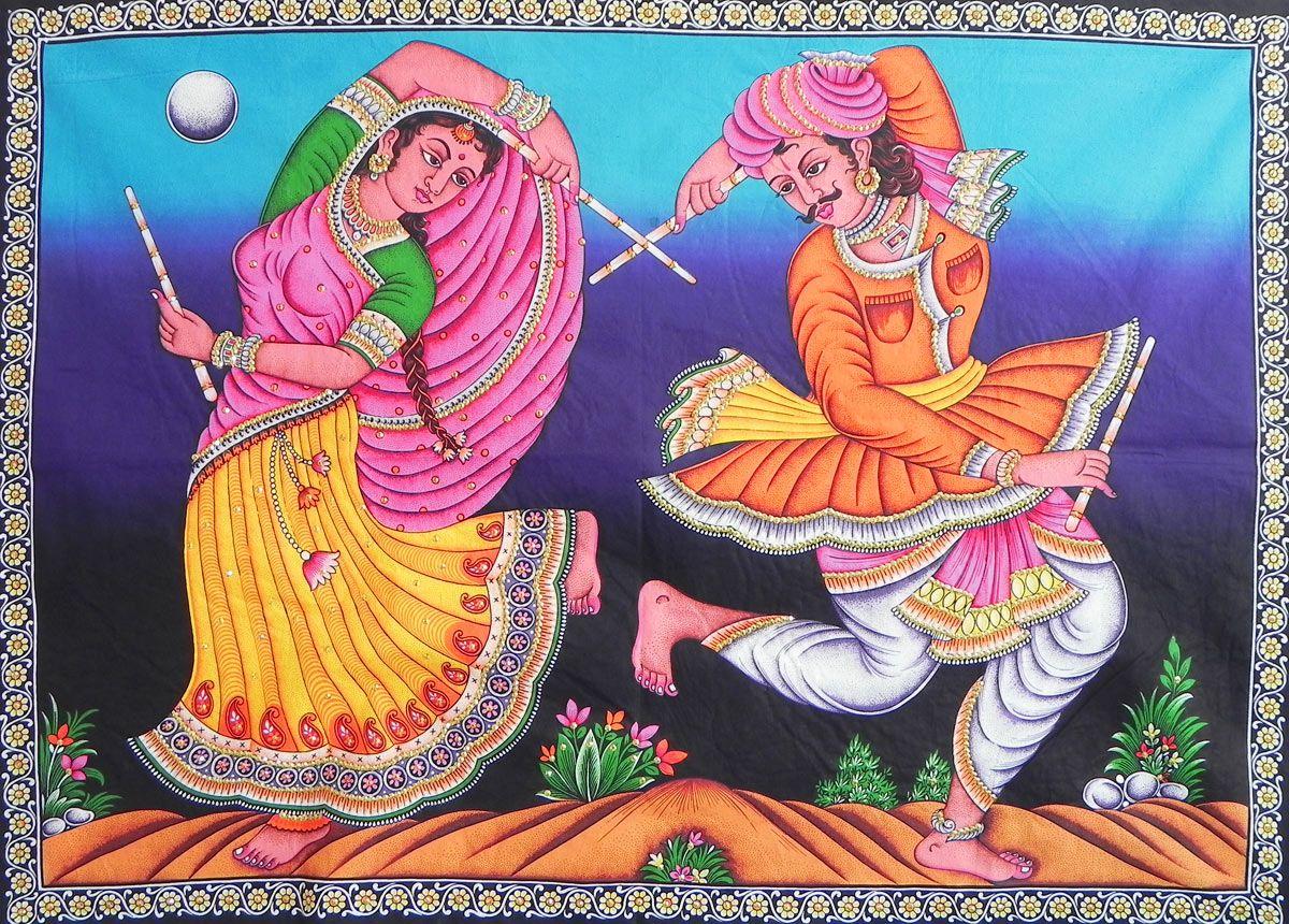 تابلو های نقاشی هندی