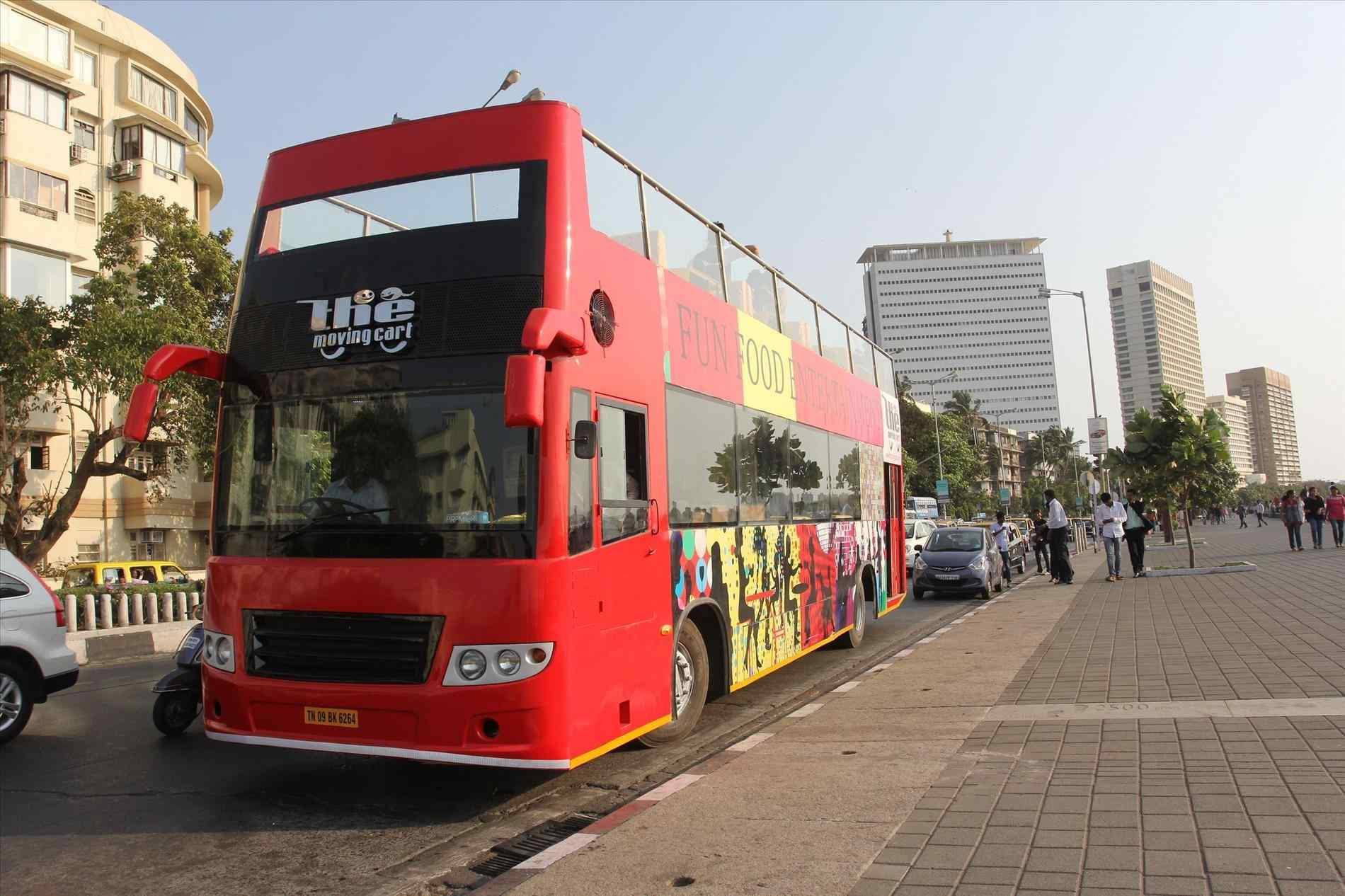اتوبوس در بمبئی