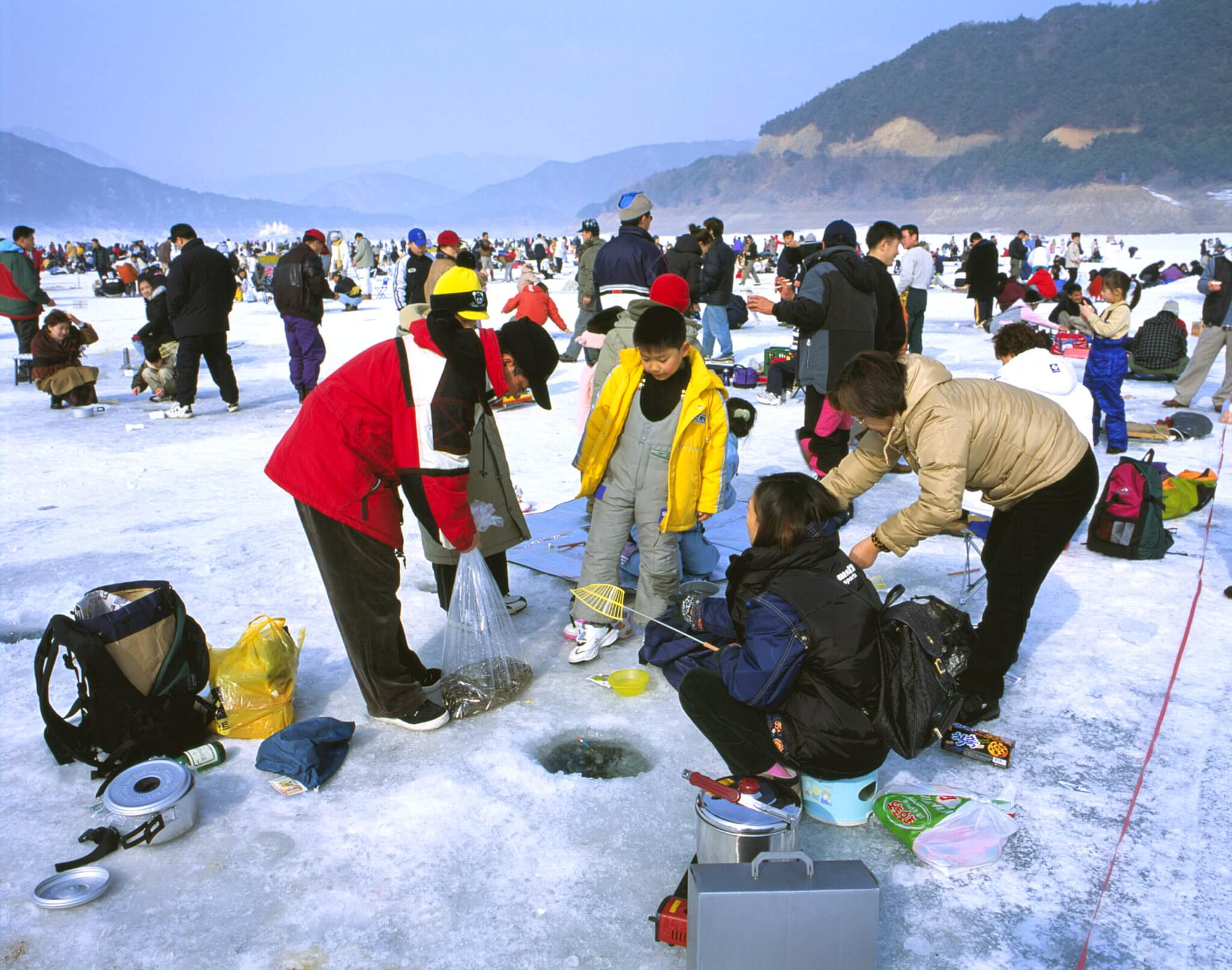 hawacheon sancheoneo ice festival