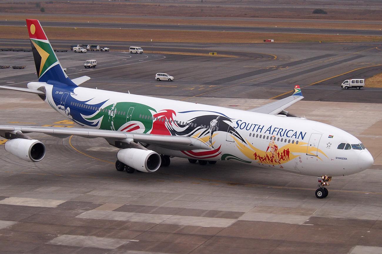خط هوایی آفریقای جنوبی
