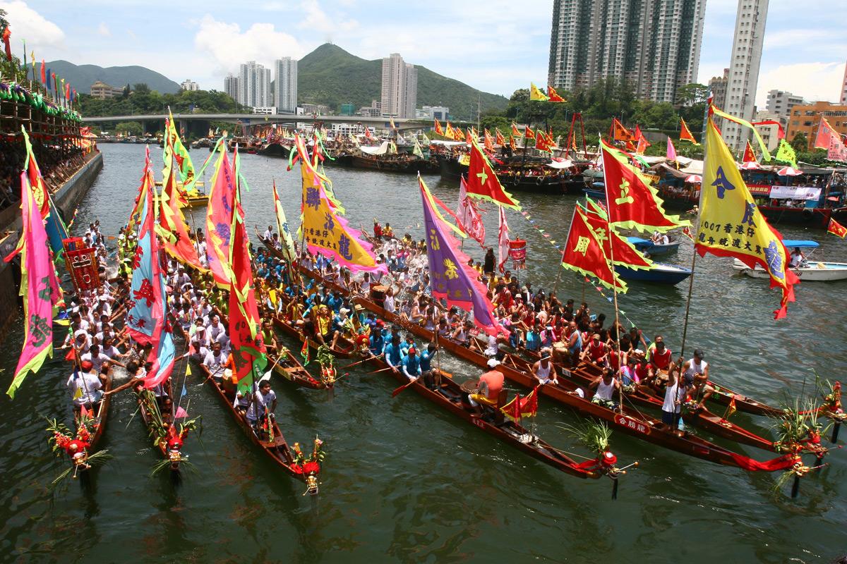جشنواره قایق اژدها