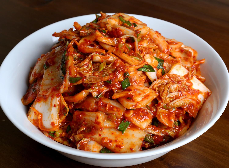 (Kimchi (fermented vegetables