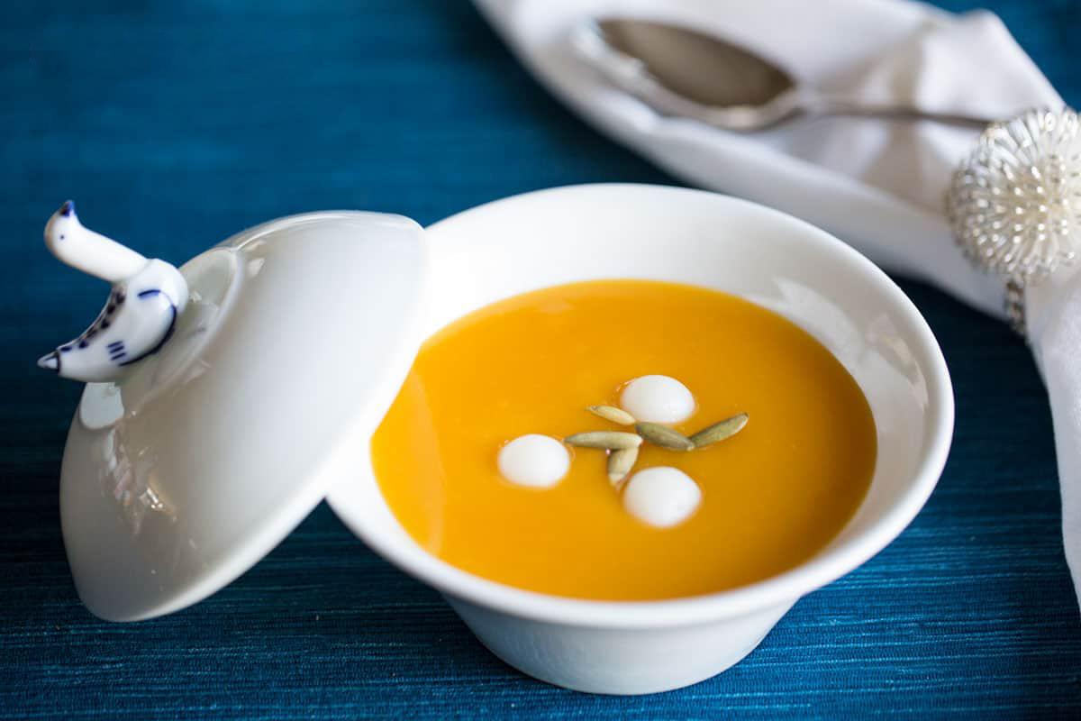 Hobakjuk (pumpkin porridge)