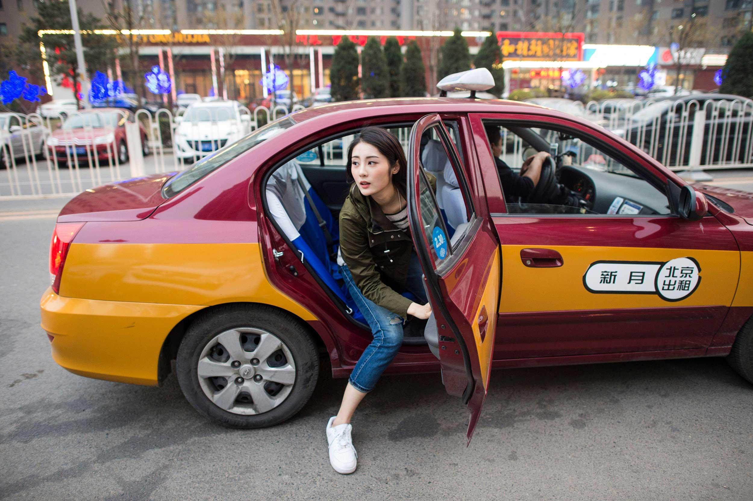 تاکسی در چین