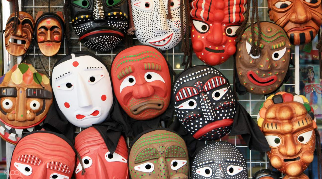 ماسک های سنتی کره ای
