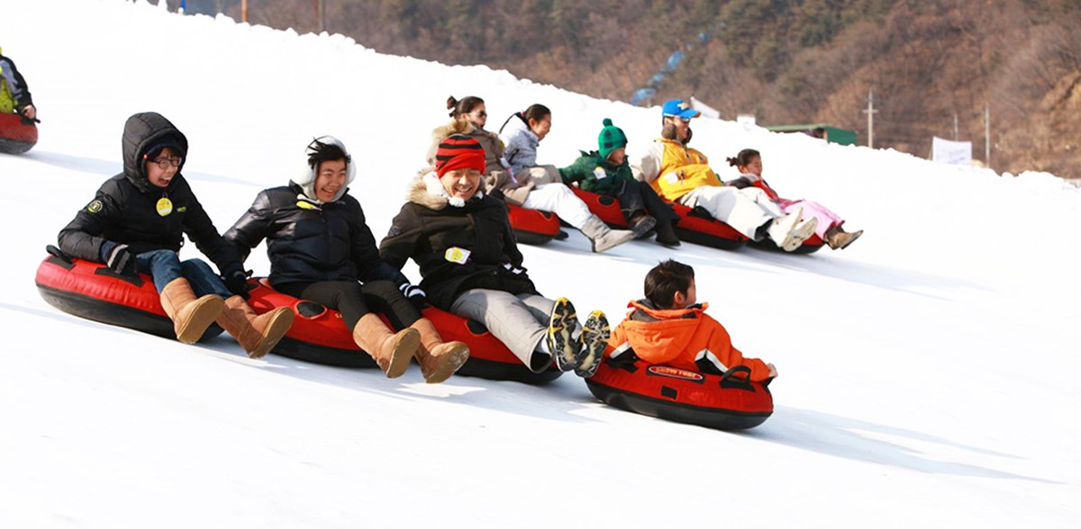 hawacheon sancheoneo ice festival