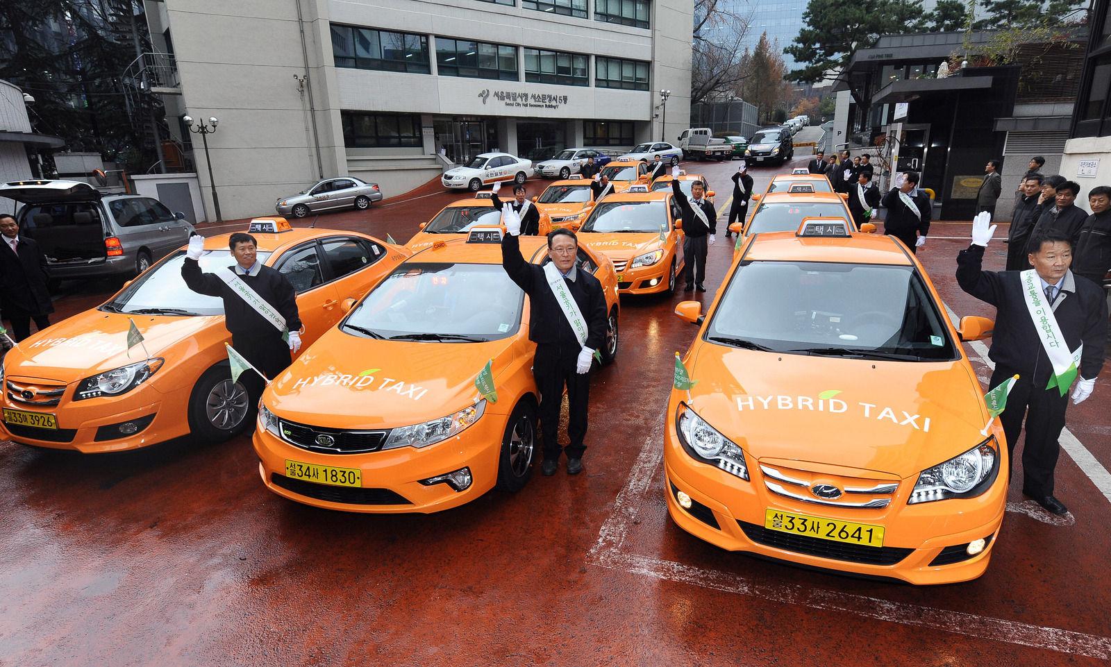 تاکسی در کره