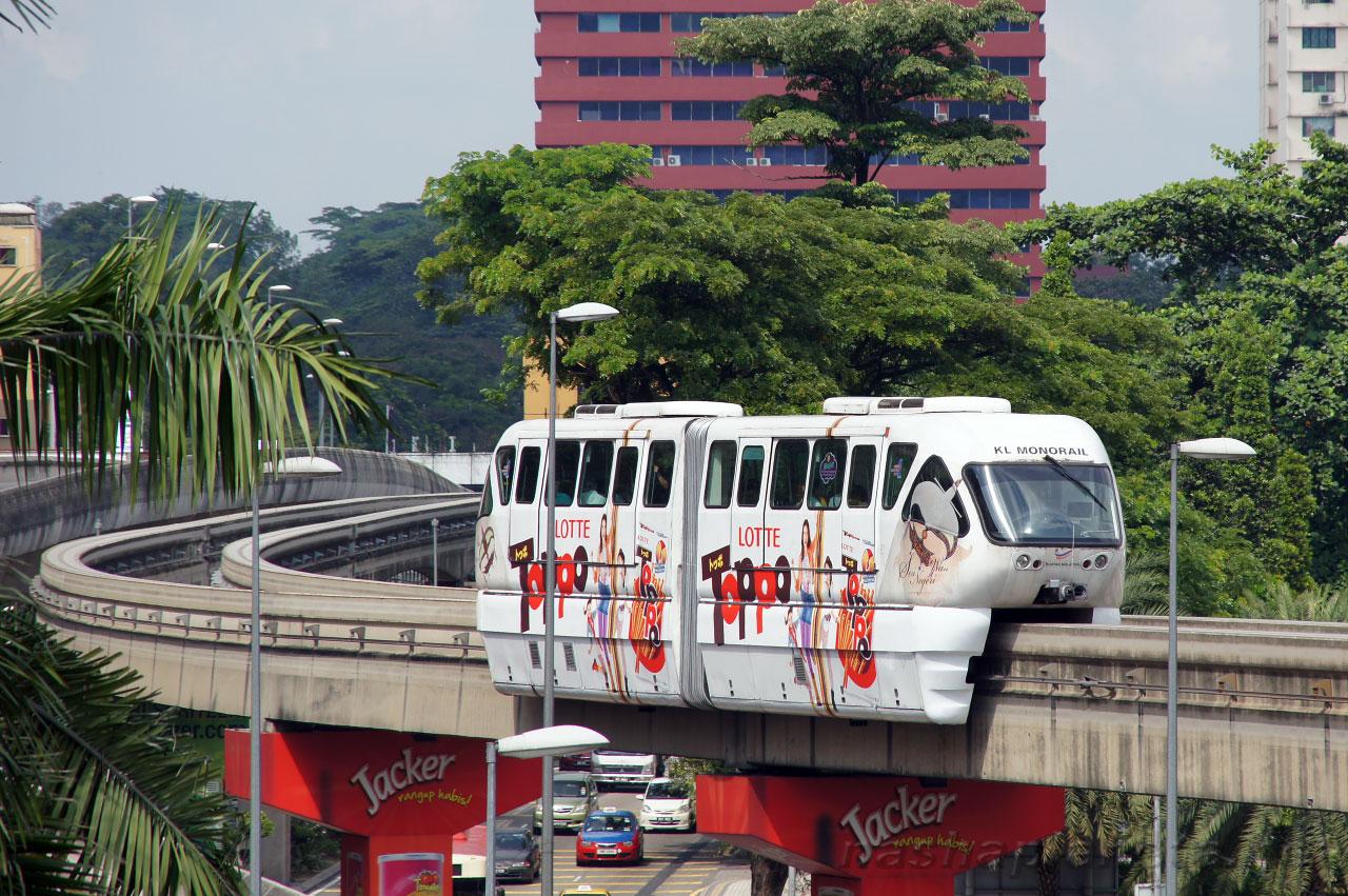 مونو ریل در مالزی