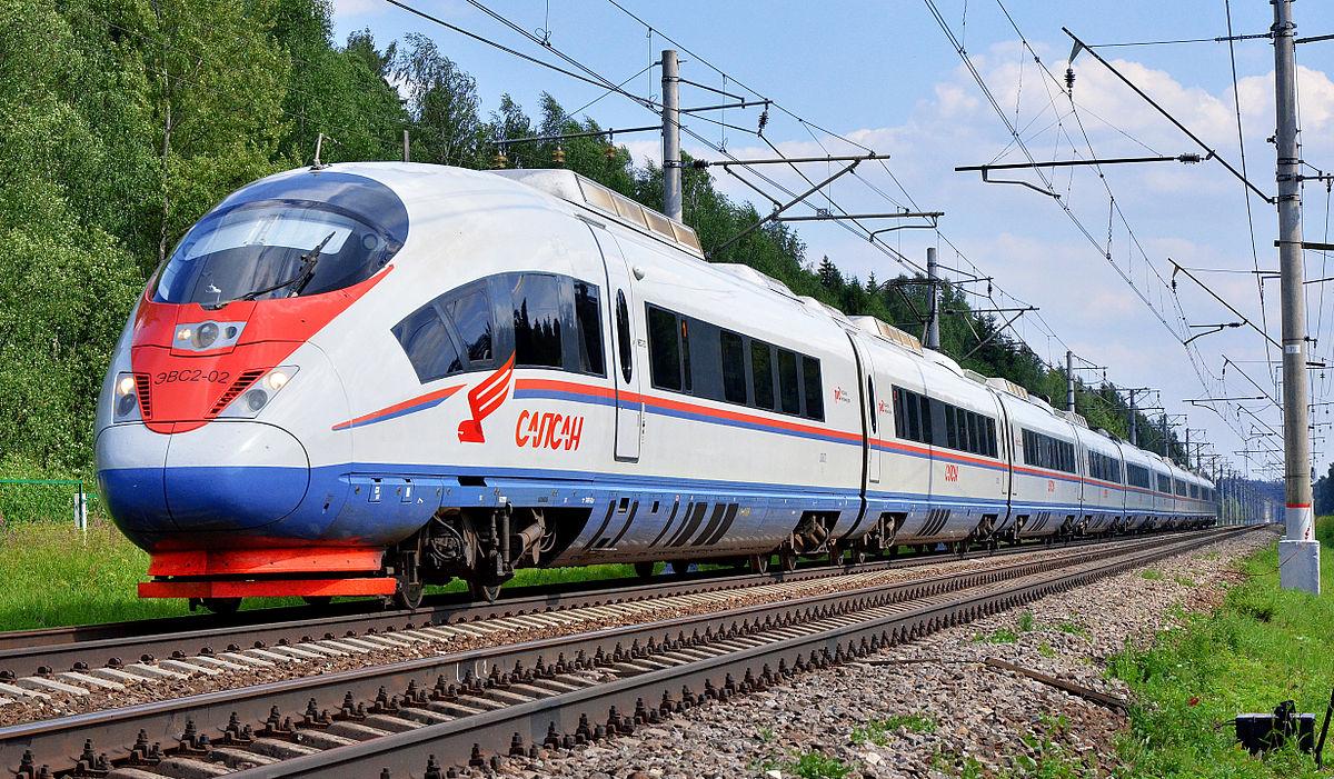 قطار در روسیه