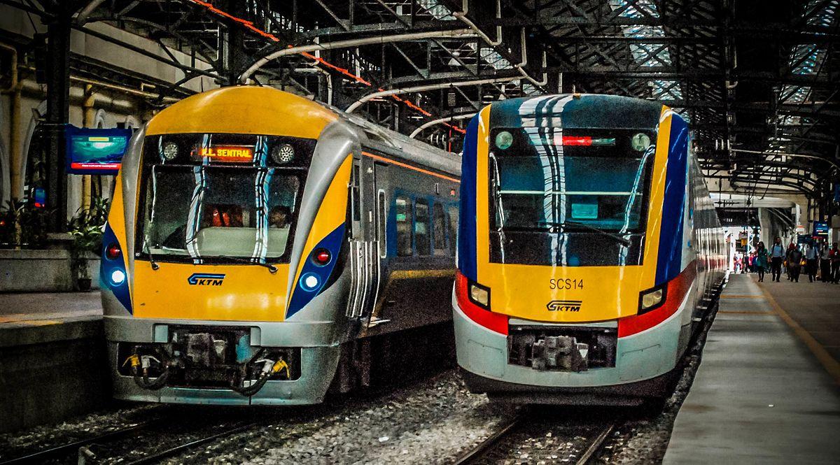 قطار در مالزی