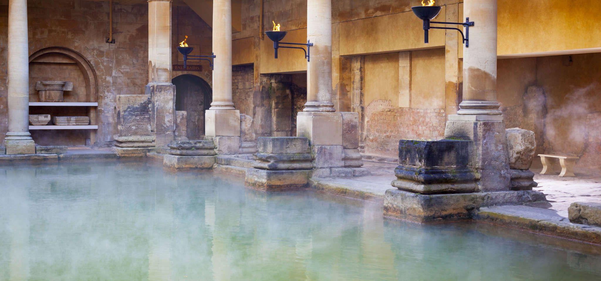 حمام های رومی