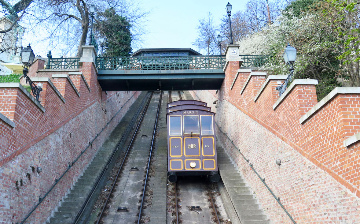 قطار کابلی فونیکولر (Funiculaire)