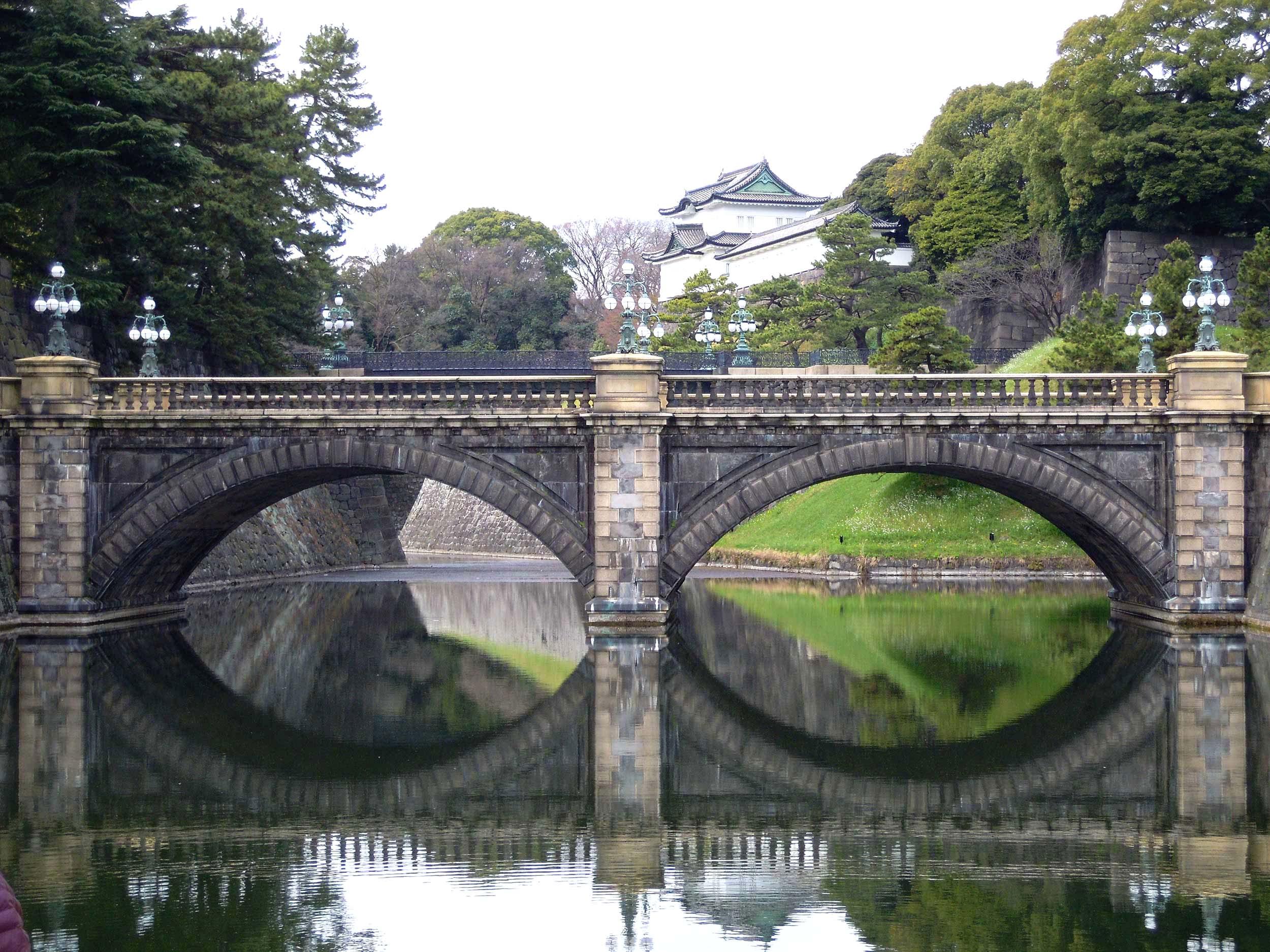 پل مگانباشی (Meganebashi) یا پل عینک