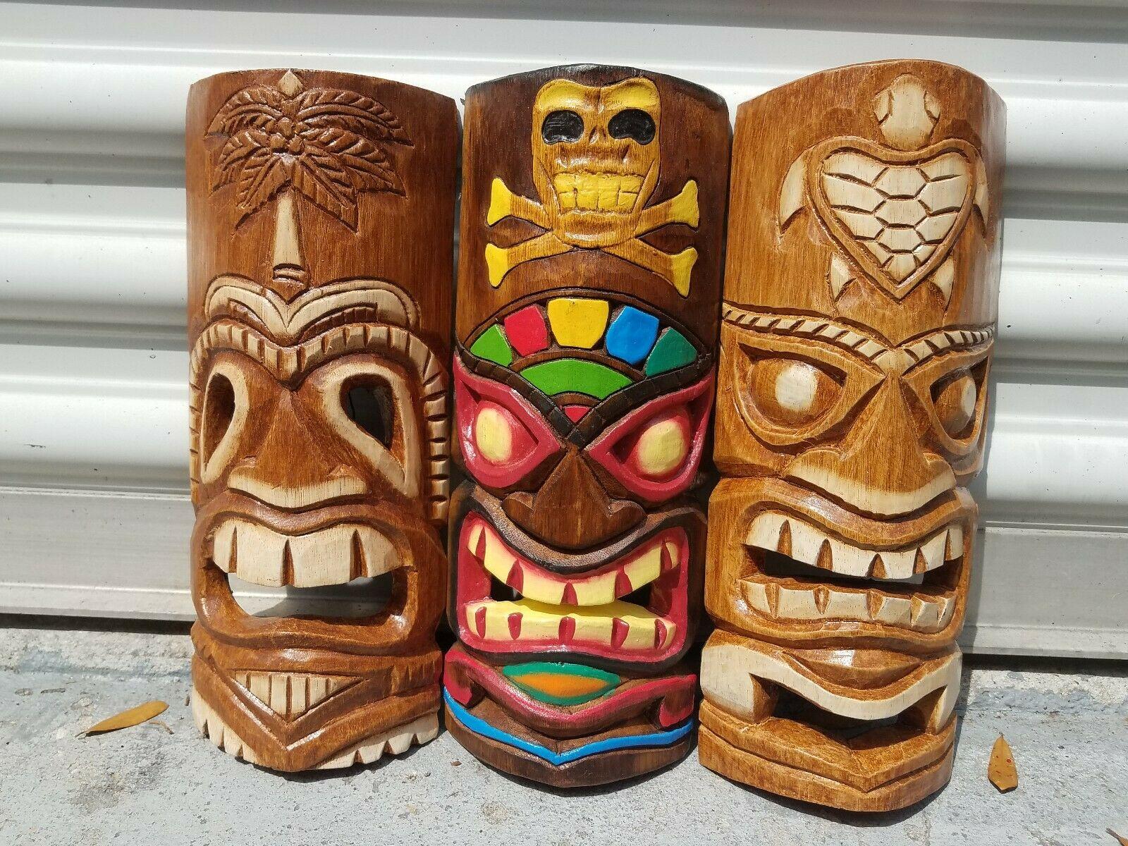 ماسک های چوبی