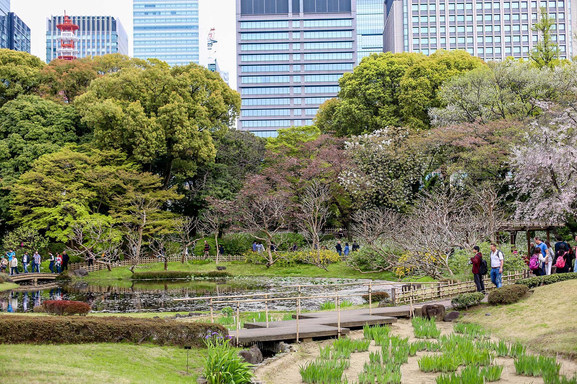 باغ های شرقی قصر امپراتوری (Imperial Palace East Gardens)