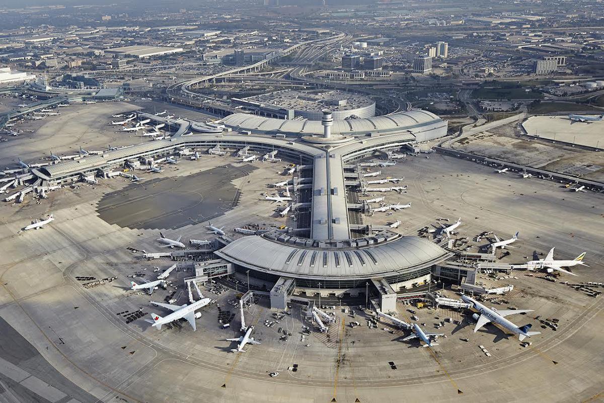 فرودگاه بین المللی کشور کانادا