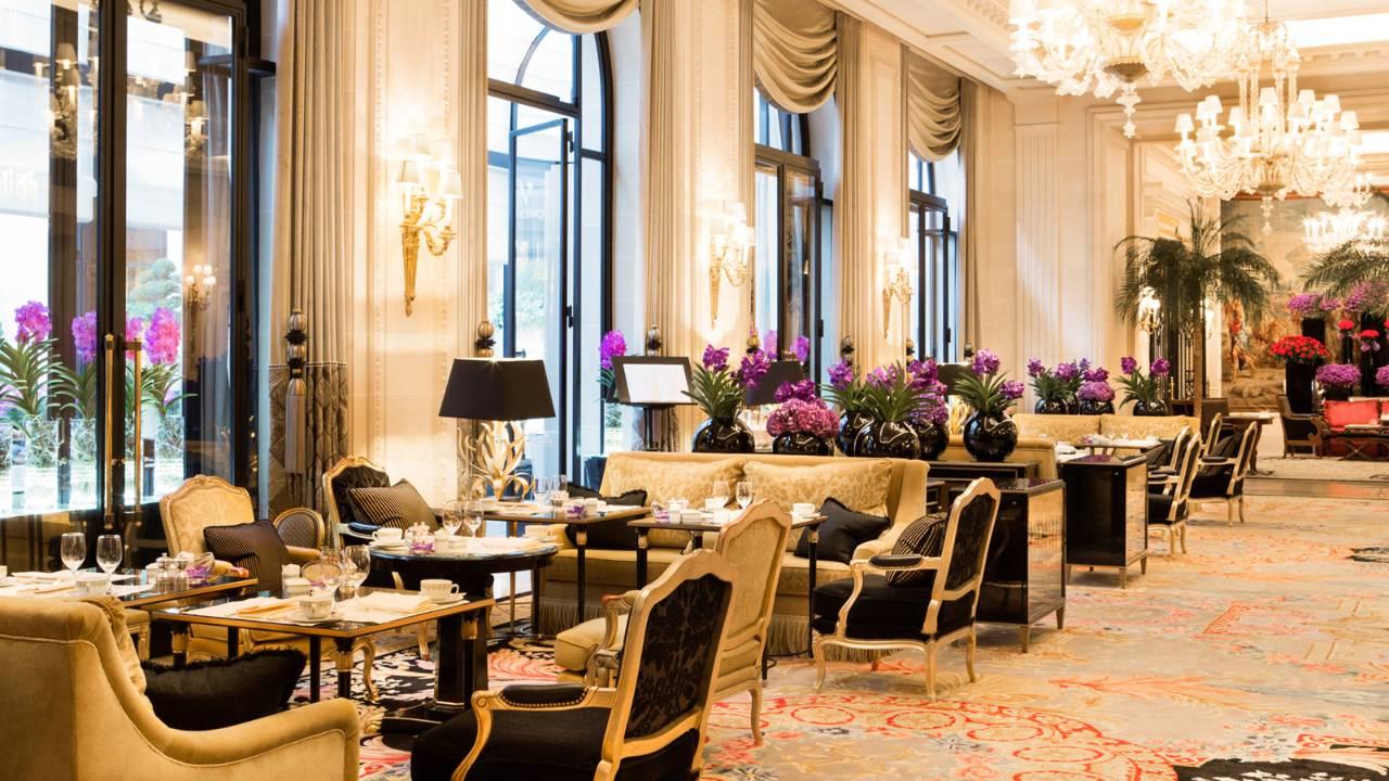 رستوران سینک در هتل چهار فصل جورج پنجم