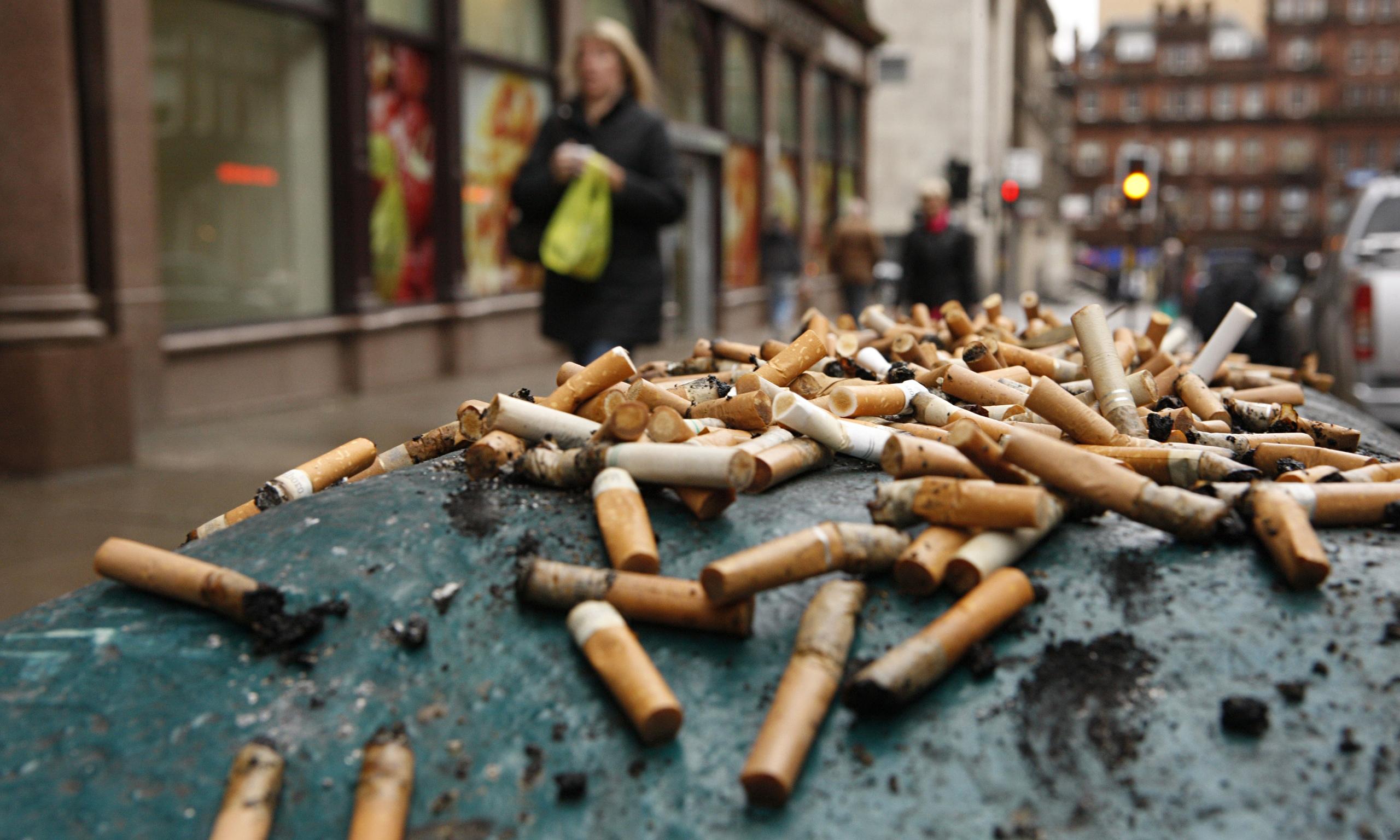 استعمال دخانیات