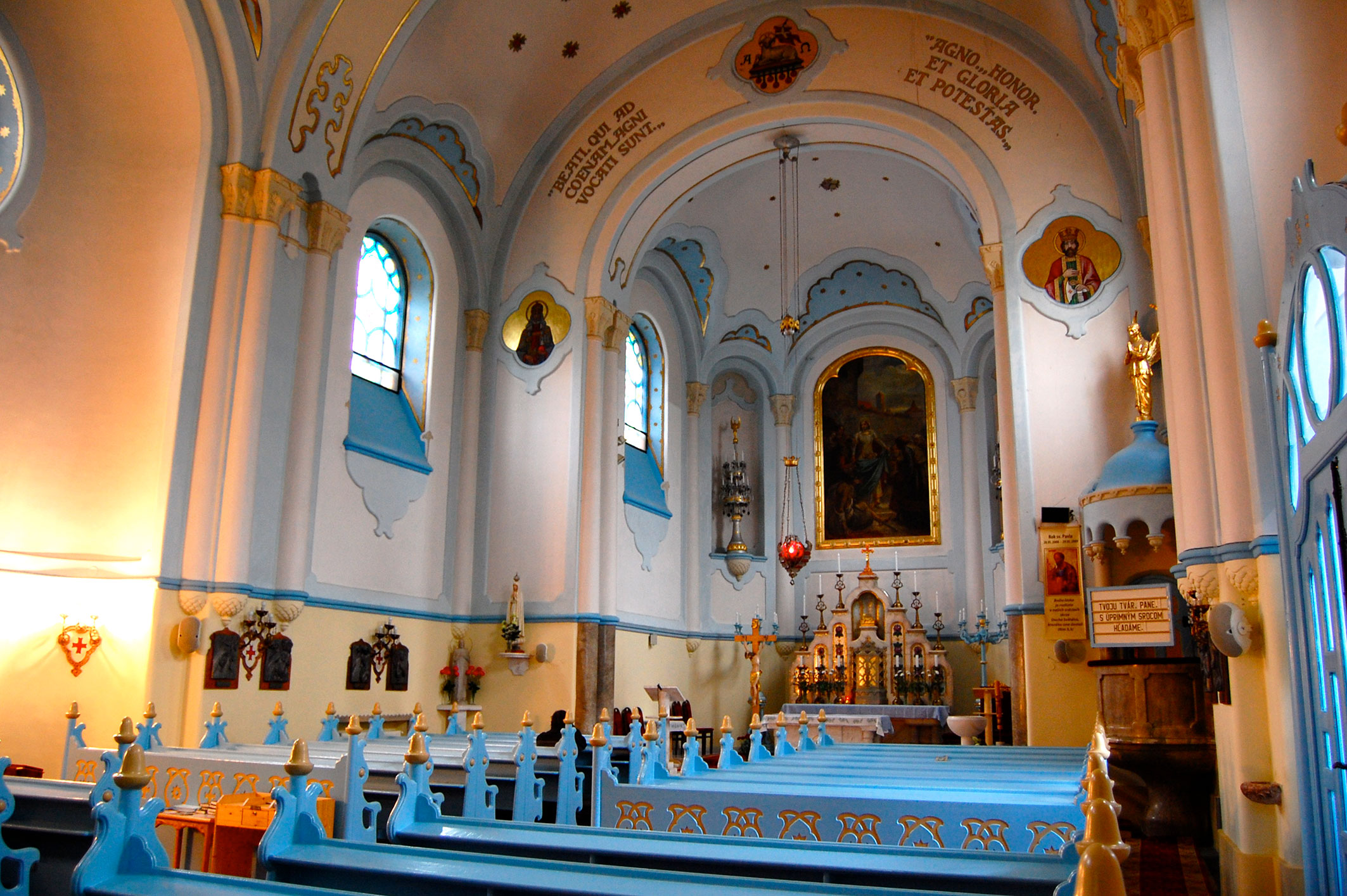 کلیسای آبی